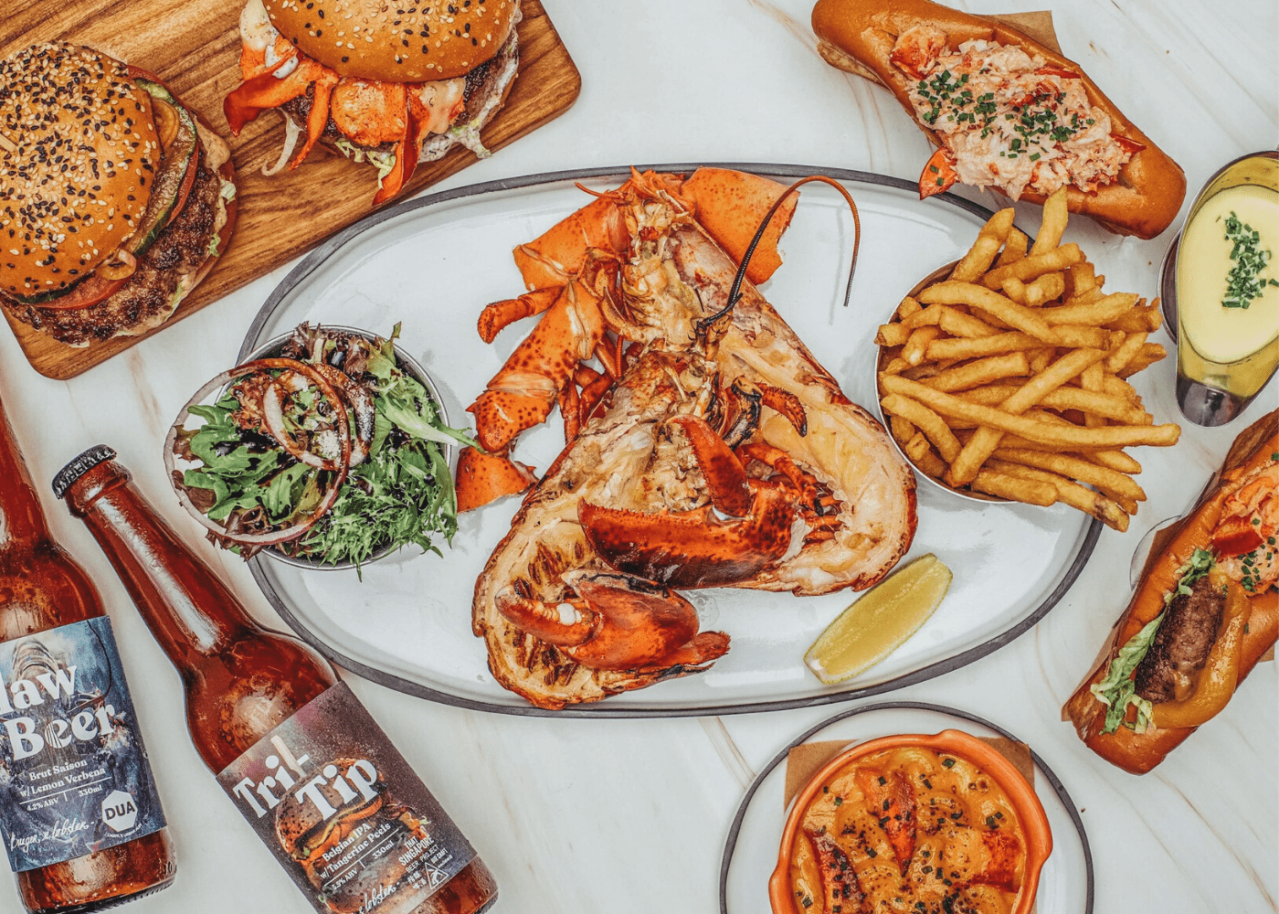 Love lobster? We found everything from top-notch lobster rolls to divine lobster noodles in Singapore