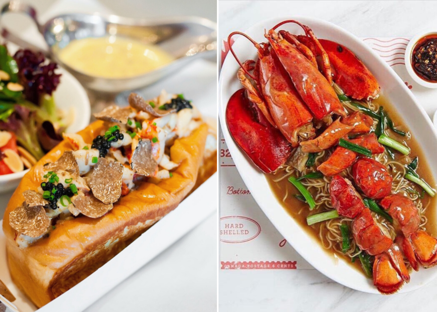 pince and pints | lobster dishes in singapore