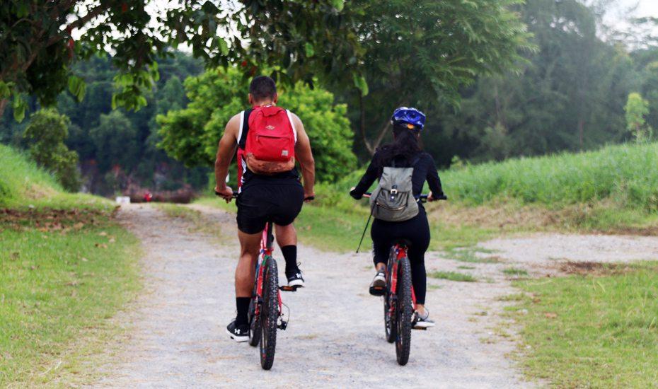 Pulau Ubin biking trail, Singapore