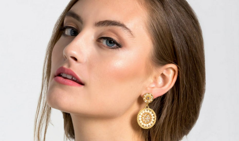 Statement earrings in Singapore: EDEN + ELLIE