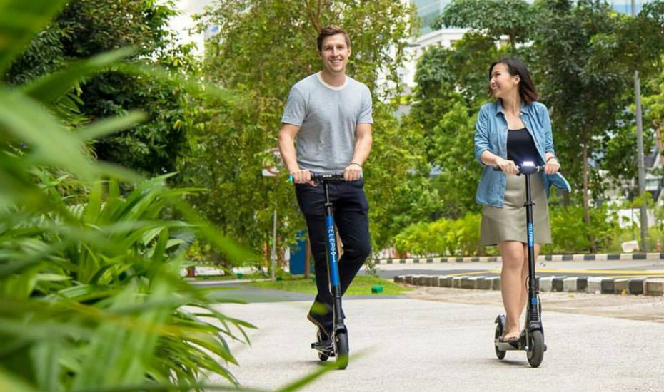 E-Scooter sharing services in Singapore: Local start-up, Telepod, launches affordable e-scooter rental in the city