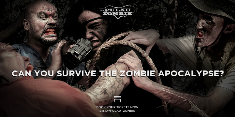 Pulau Zombie: 13 hours of Terror