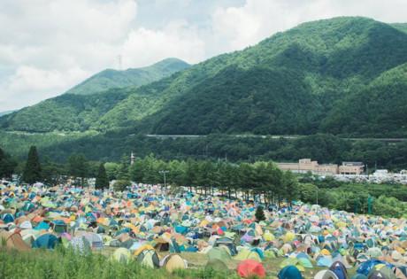 A top music festival in Asia! (Credit: Fuji Rock Facebook page)