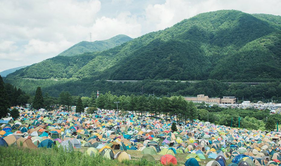 A top music festival in Asia! (Credit: Fuji Rock Facebook page)