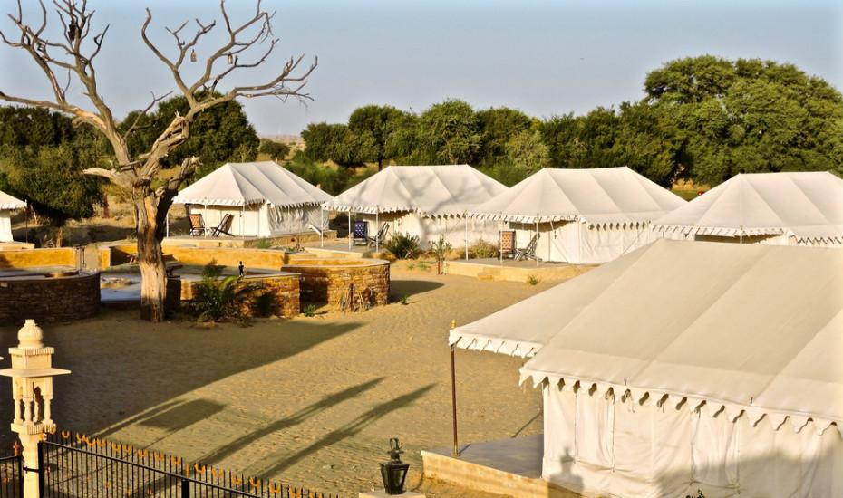 Damodra Desert Camp, Rajasthan, India