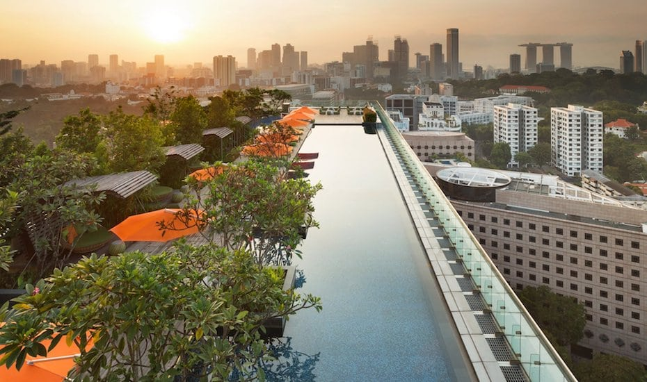 Hotel Jen Orchardgateway Singapore | Swimming Pools in Singapore