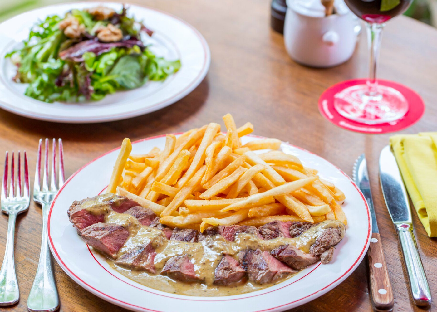 French restaurant in Singapore: L'Entrecote