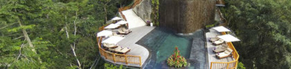 Spend a holiday long weekend in Bali (Credit: Hanging Gardens Bali Facebook page)