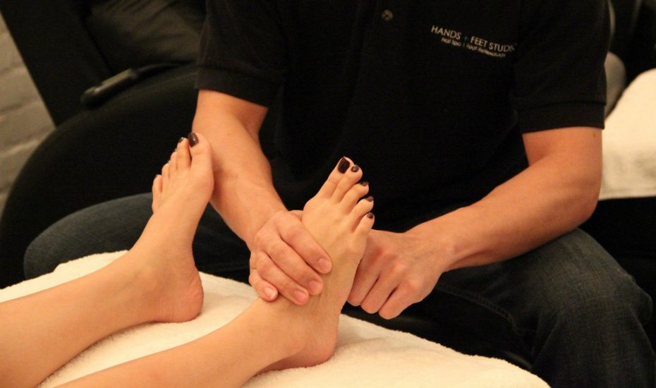 Best massages: Hands + Feet Studio for foot reflexology
