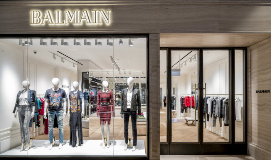 dafe7c5ab0e Luxury shopping in Singapore: Balmain opens its first Southeast Asia store  in Marina Bay Sands