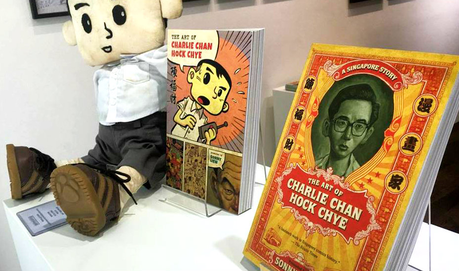 This Singapore artist has been nominated for the 'comic book Oscars' for 2017