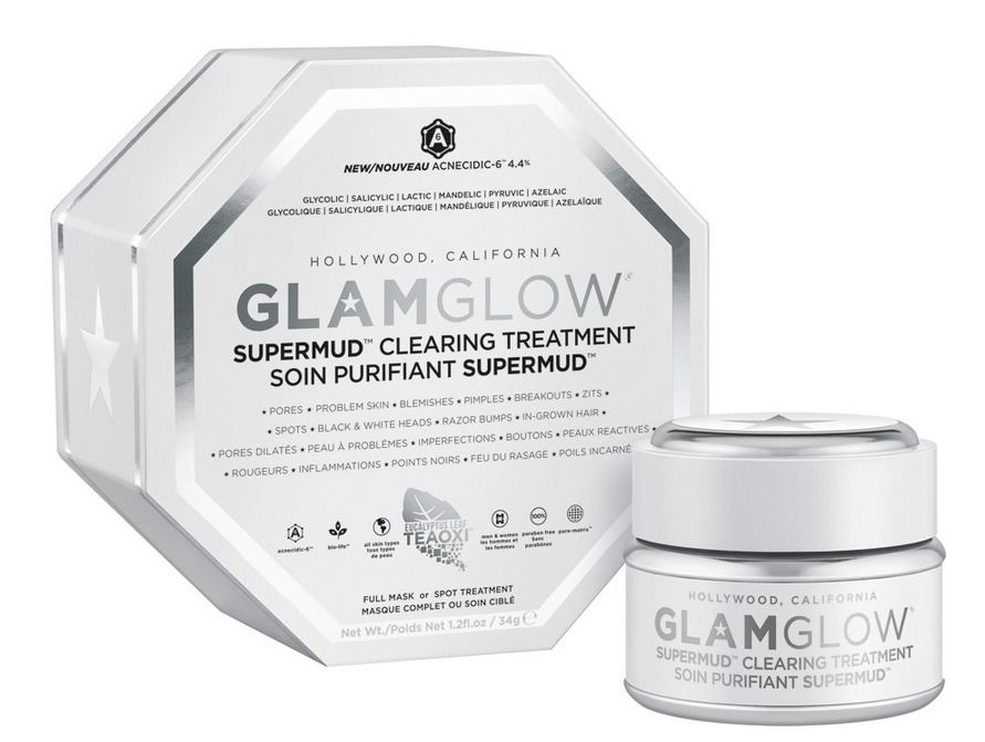 Glamglow Supermud Clearing Treatment | Best acne treatments and solutions to target blemishes, pimples and spots