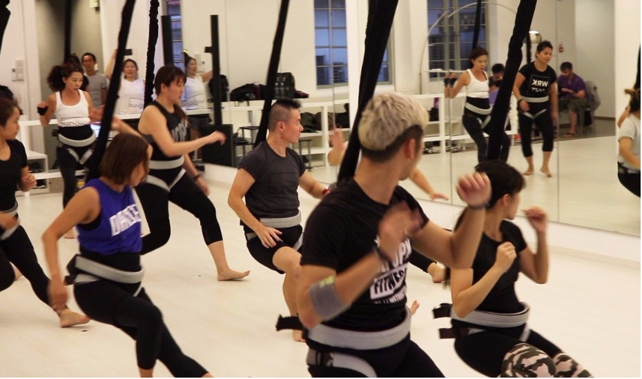 A new way to work out: We try the bungee dance fitness class at DanceVault Singapore