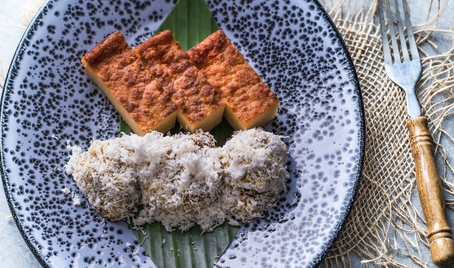 From eurasian to peranakan taste these true flavours of singapore kueh bengkah and kueh kosui forumfinder Choice Image