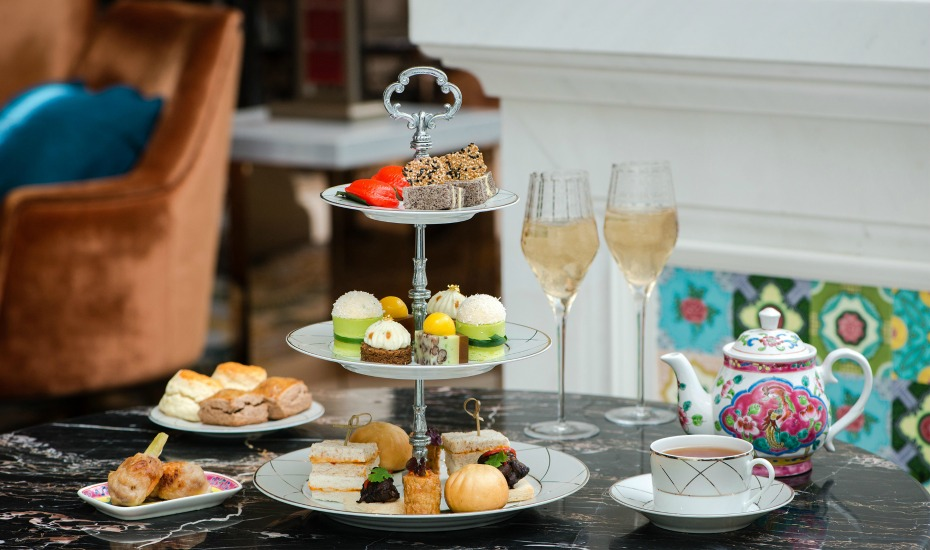 High tea in Singapore: Feast on chilli crab sandwiches, pulut hitam cakes and more with The Lobby Lounge's new Classic Afternoon Tea: Straits Heritage