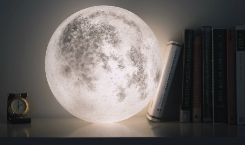 Illuminate Your Home With Luna The Lamp That Looks Like