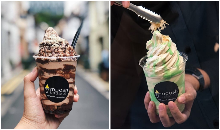 Ice cream parlours in Singapore | Moosh SG