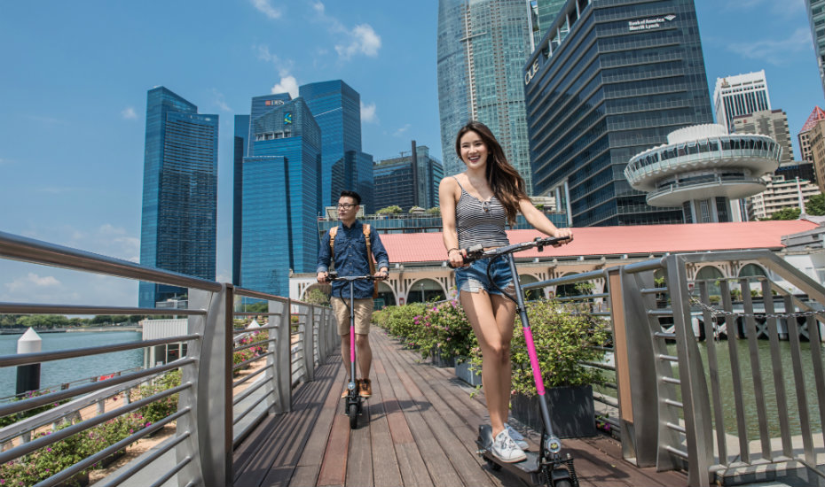 Scoot aside, bike-sharing! There's now an e-scooter sharing platform in Singapore