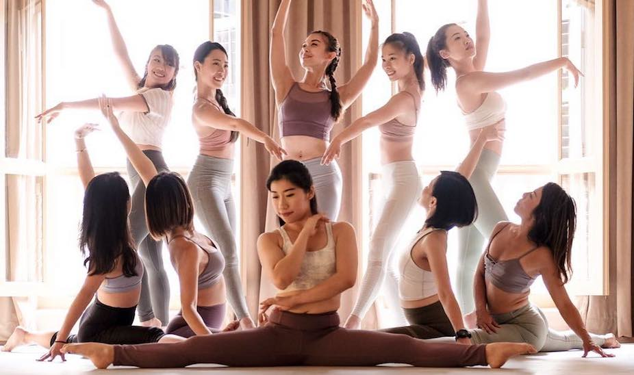 Barre classes in Singapore