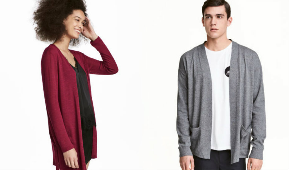 Beat the chill with these fashionably cool sweaters and cardigans for men  and women 241a31240