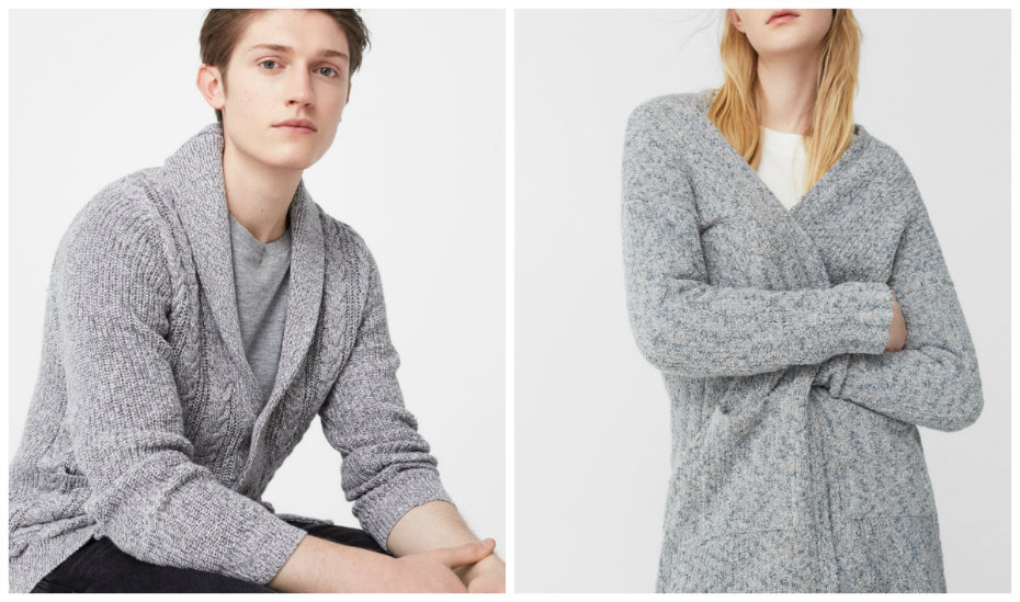 Beat the chill with these fashionably cool sweaters and cardigans ... 998725273
