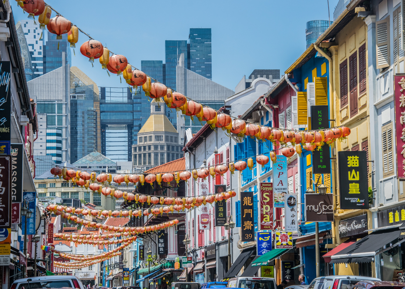 streets of chinatown | The ultimate 48-hour guide to Singapore