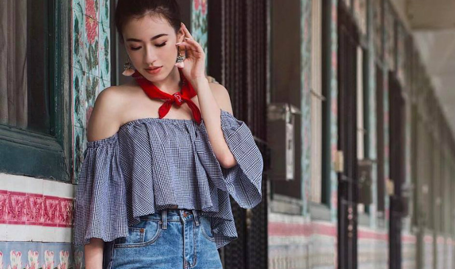 4cee6e8c7dc Shopping in Singapore: Where to buy fashionable and affordable crop tops,  short shirts, and midriff blouses for work and casual days out