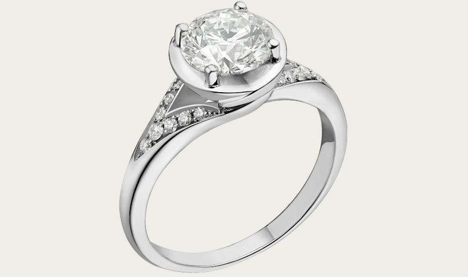 Where to buy diamond rings in Singapore: Bvlgari