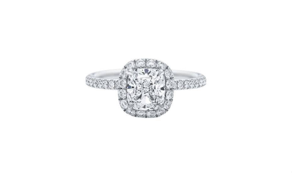 Where to buy diamond rings in Singapore: Harry Winston
