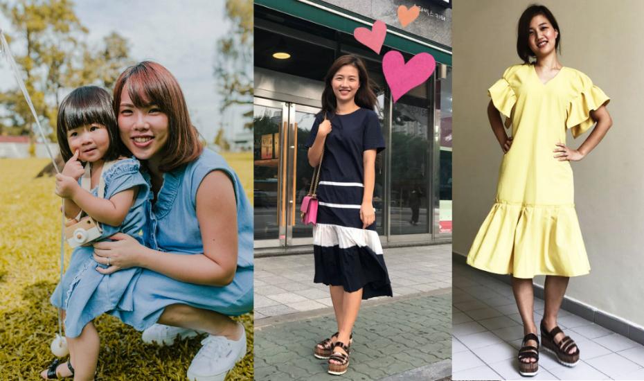 Korean fashion dresses singapore