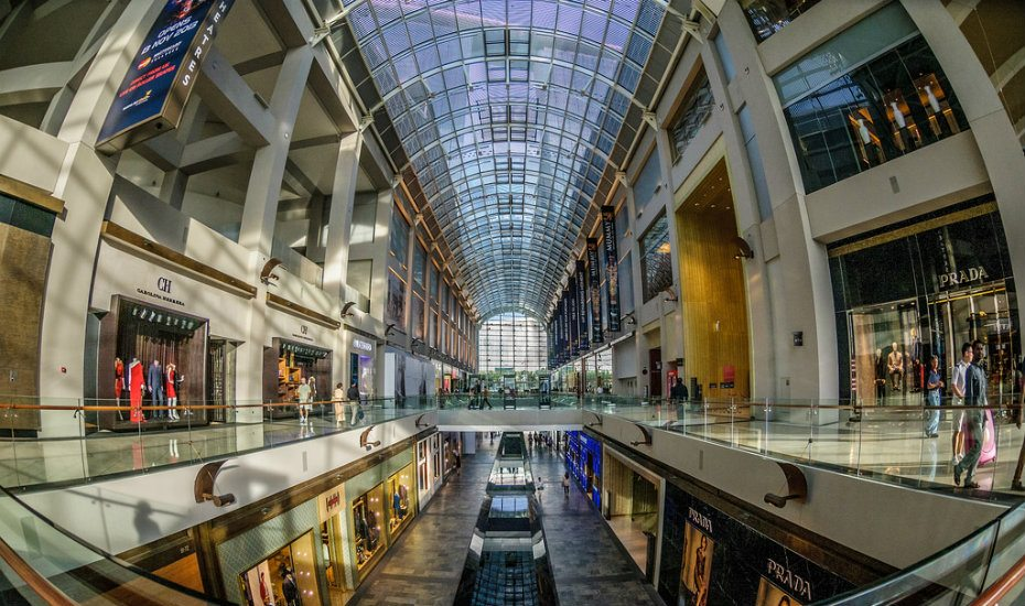 Malls in Singapore: Shoppes at Marina Bay Sands