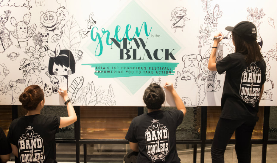 Our five must-dos at Green Is The New Black: The Conscious Festival October 2017
