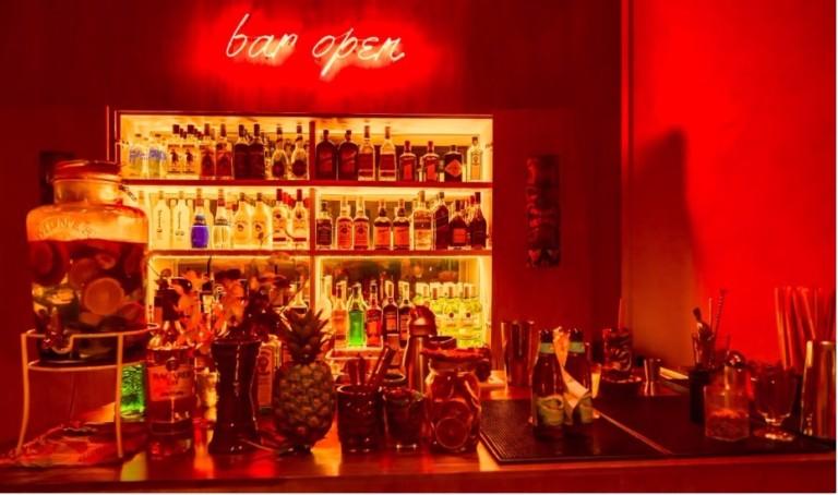 Singapore's Amoy street has a secret Tiki Bar: Aloha Poke cafe turns into a Hawaiian bar by night