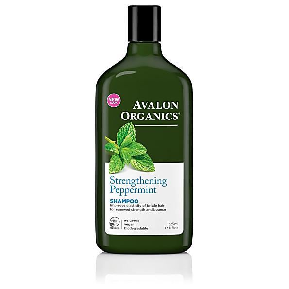 Best shampoos | For brittle hair: Avalon Organics Peppermint Strengthening Shampoo