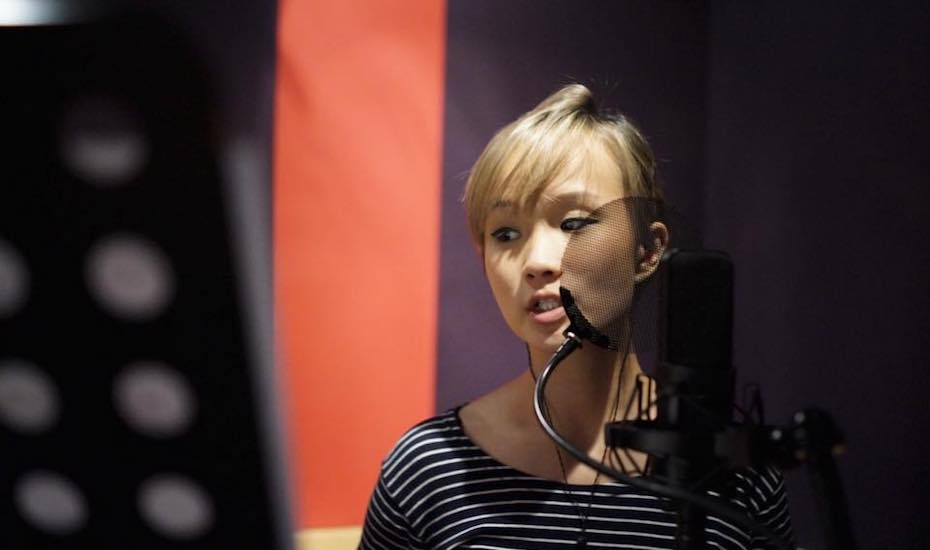 Becka is a local musicians from Singapore; a rising star.