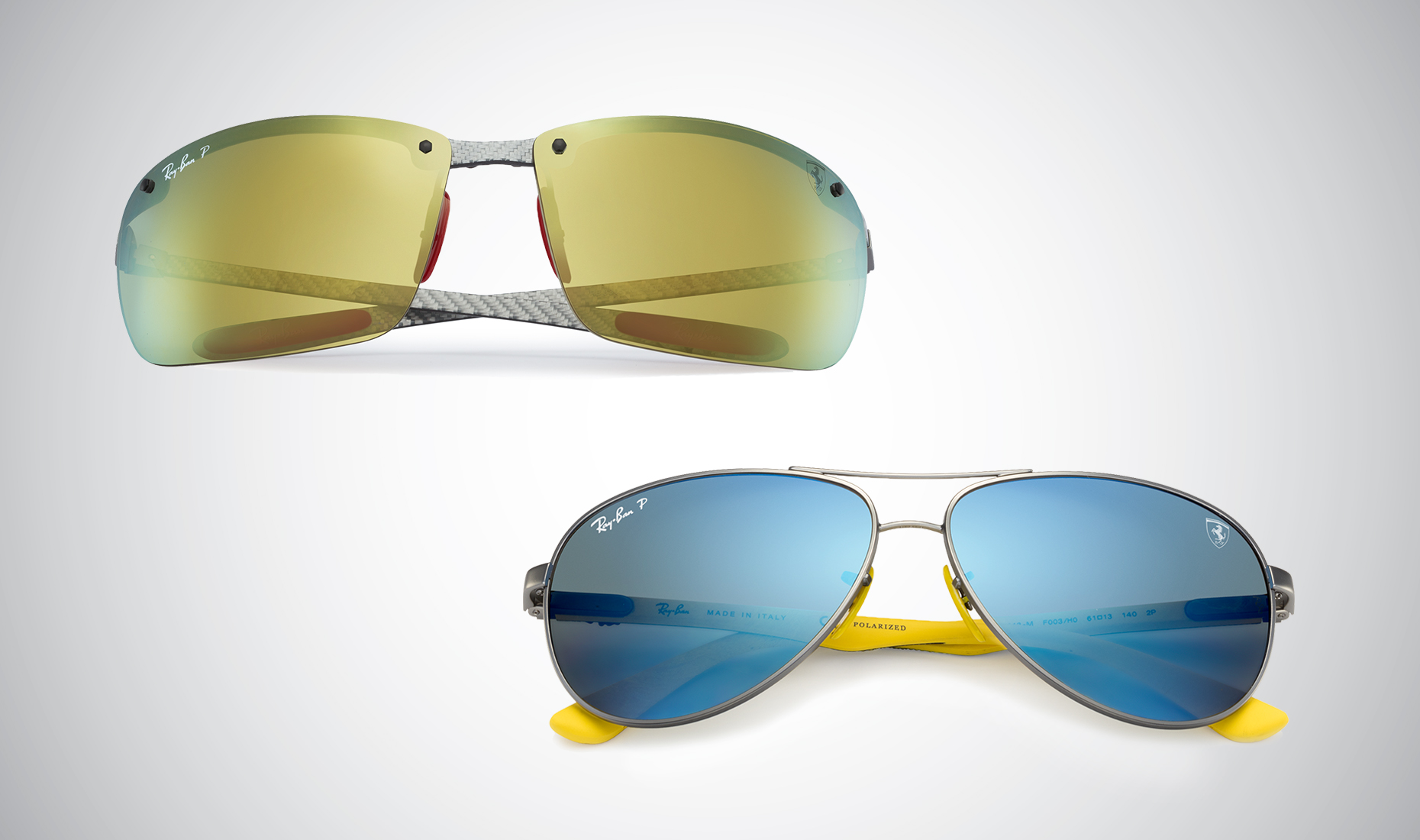 991c78c0aa Get race-ready with the Ray-Ban Scuderia Ferrari collection