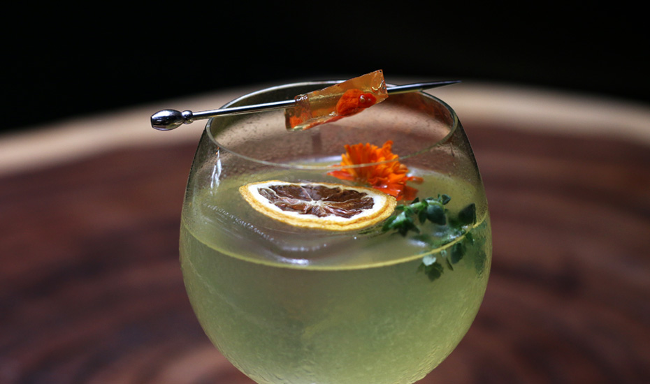 Bars in Singapore: Birds of a Feather's mid-autumn festival drink Fly Me to the Moon is our cocktail of the week
