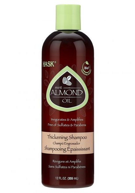 Best shampoos | For dull hair: HASK Mint Almond Thickening Shampoo