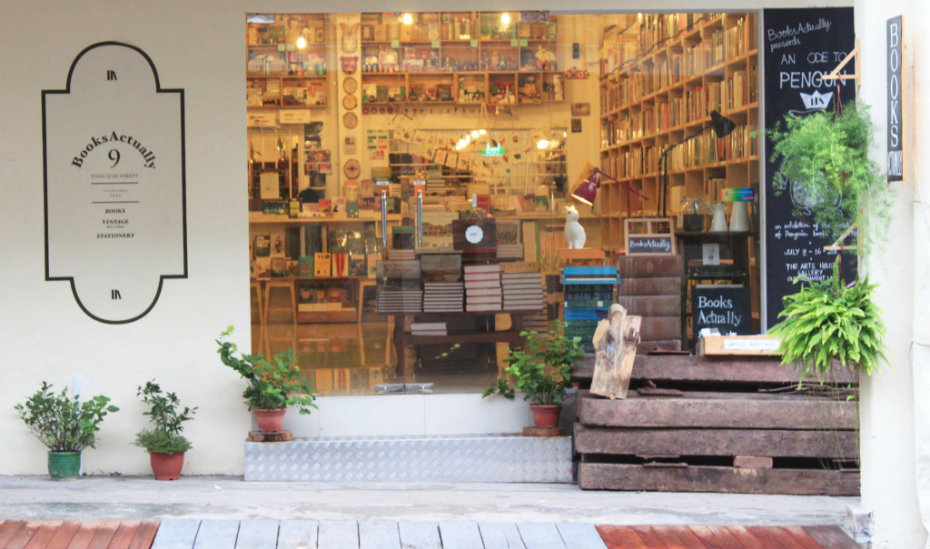 BooksActually is throwing a pyjama party sale in Tiong Bahru