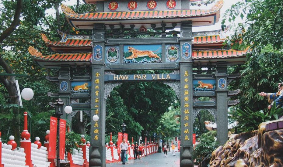 Haw Par Villa | haunted places in Singapore