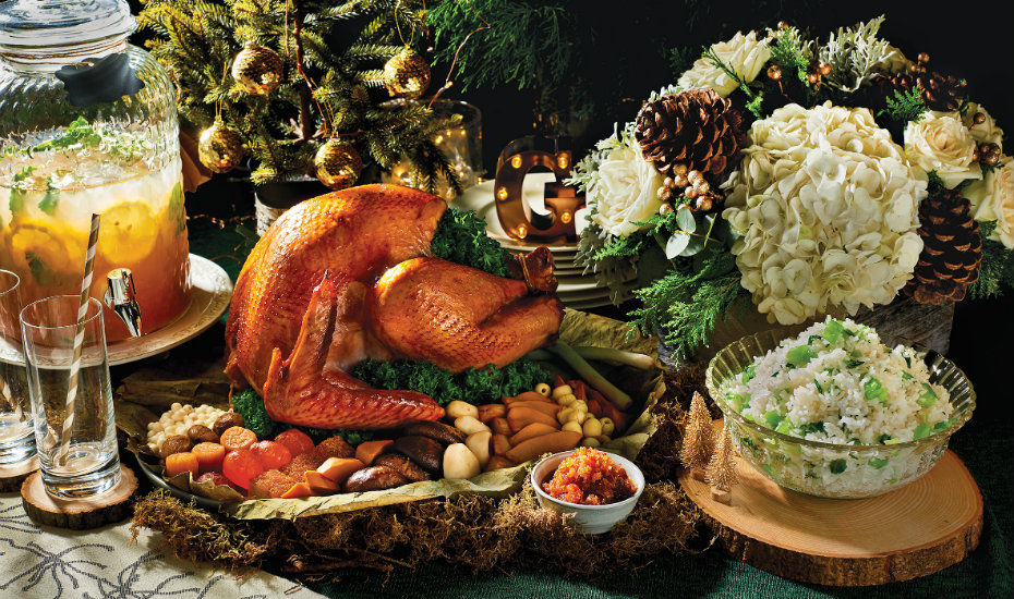 Christmas buffets in Singapore (Photography via Goodwood Park Hotel)