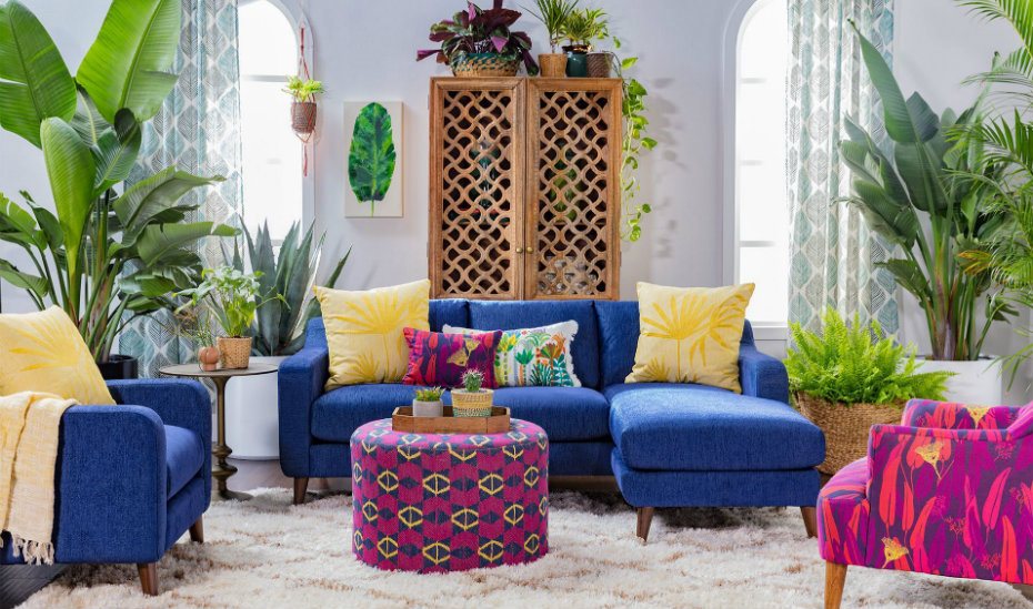 The Justina Blakeney and Living Spaces collaboration