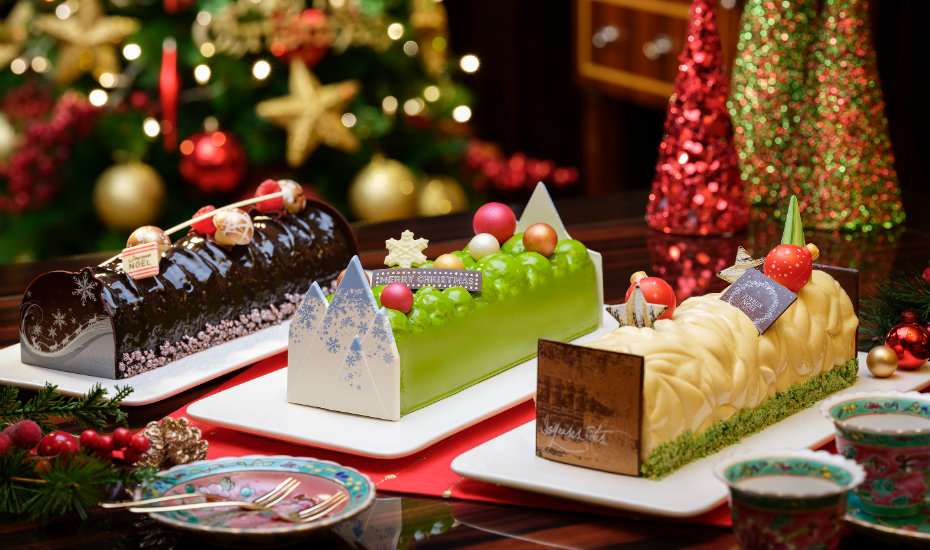 It ain't Christmas without log cakes!