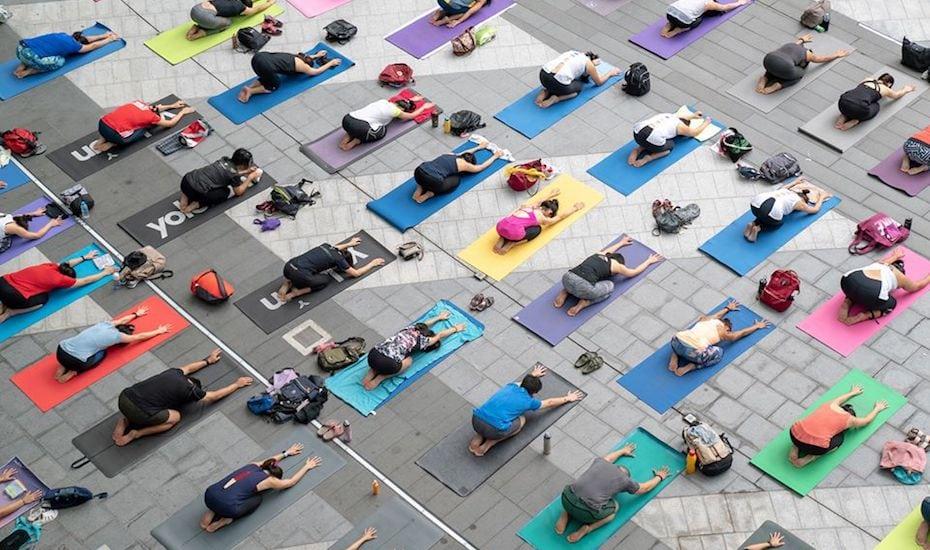 Yoga studios in Singapore