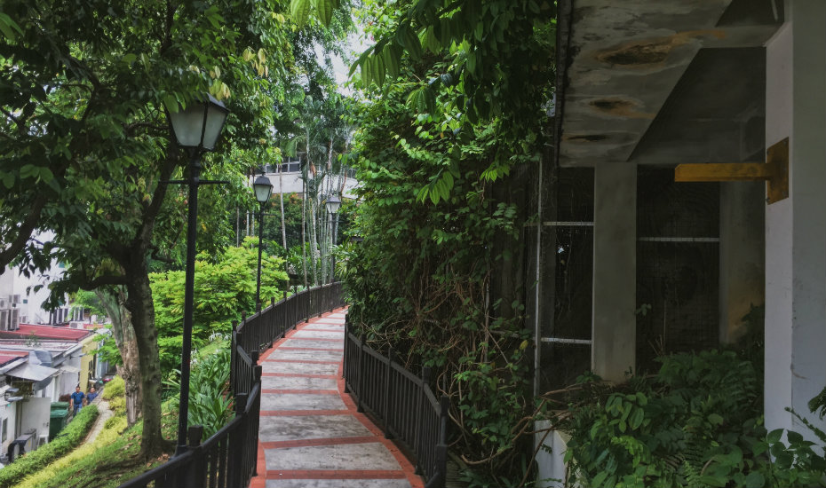 Ann Siang Hill Park | hidden gardens in singapore