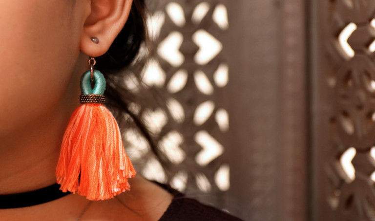 Shopping for statement jewellery in Singapore: The tassel earring trend won't quit