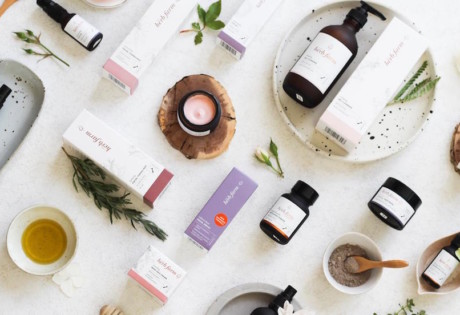 Organic beauty brand The Herb Farm