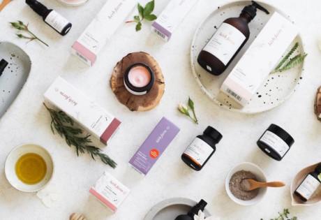 Organic beauty brand The Herb Farm