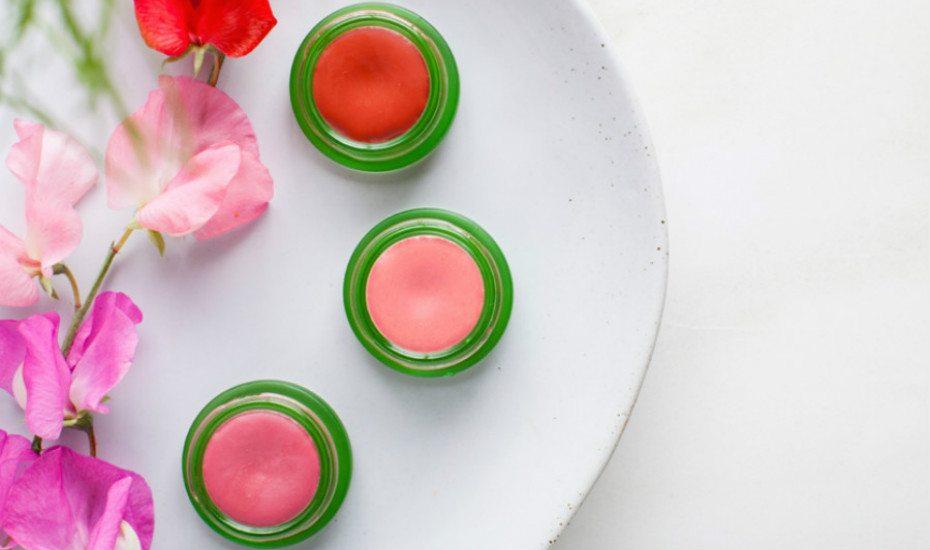 Organic lip and cheek tints from Tata Harper