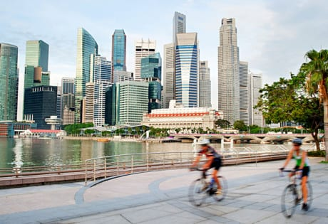 Best biking trails in Singapore | Beautiful cycling routes in Singapore | Where to cycle | Park Connectors